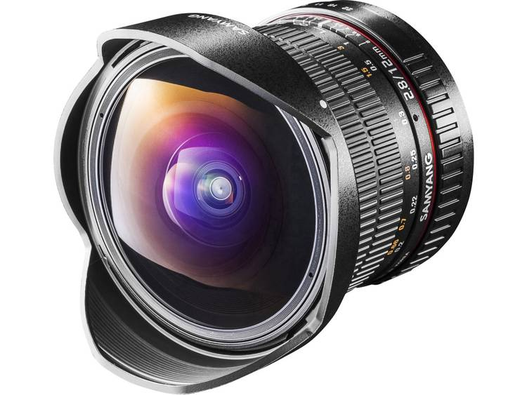 Samyang Fisheye-lens f/22 – 2.8 12 mm