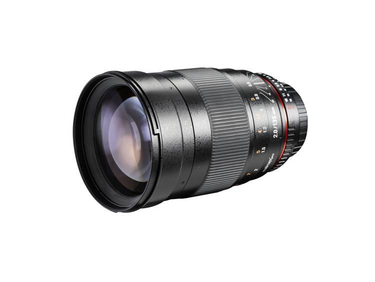 Walimex Pro Telelens f/22 – 2 135 mm