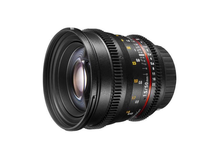 Walimex Pro Standaard lens f/22 – 1.4 50 mm
