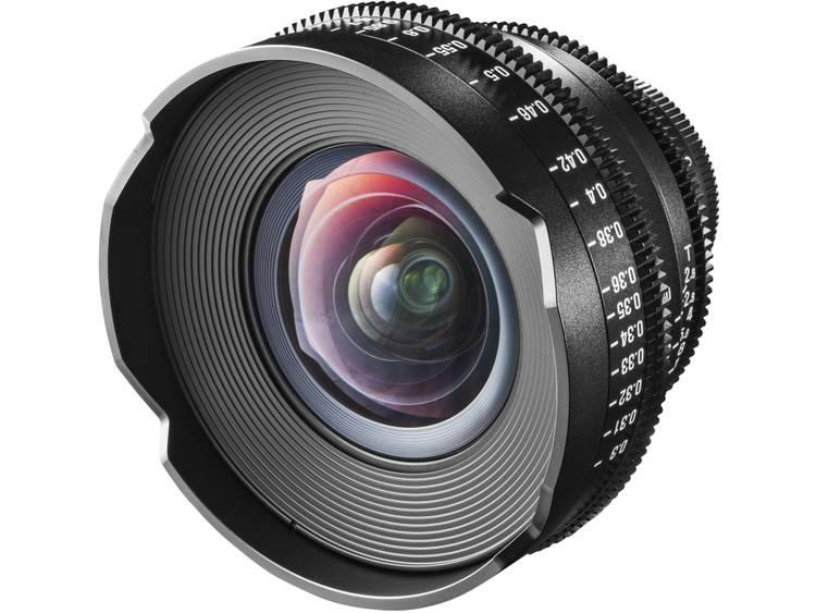 Breedhoeklens f/22 – 2.6 16 mm