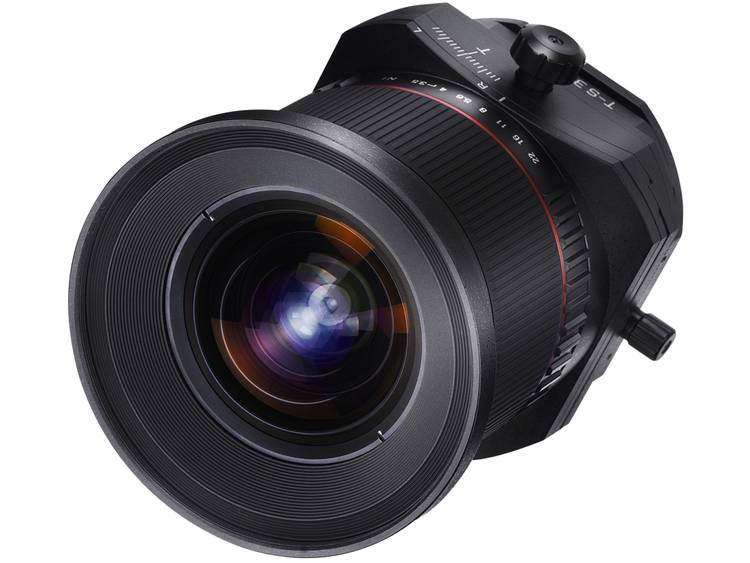 Samyang Tilt-shift lens f/22 – 3.5 24 mm