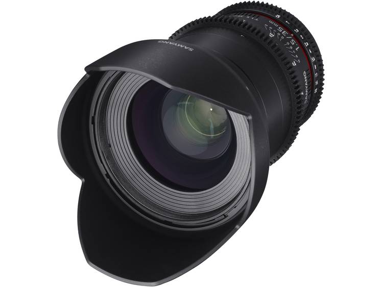 Samyang Breedhoeklens f/22 – 1.5 35 mm