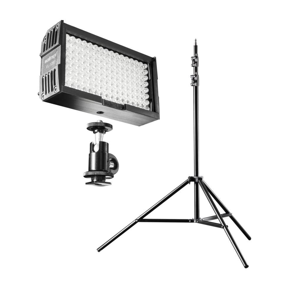 Walimex Pro 20372 LED videobelysning Antal LED=128