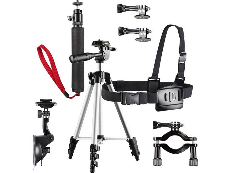Bevestigingsset Mantona Family Set Pro for GoPro 20451