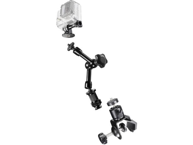 Bevestigingsset Mantona GoPro Clamp Set III 20469
