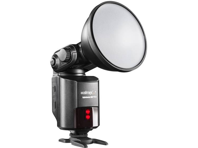 Externe flitser Walimex Pro Geschikt voor: Nikon Richtgetal bij ISO 100/50 mm: 80