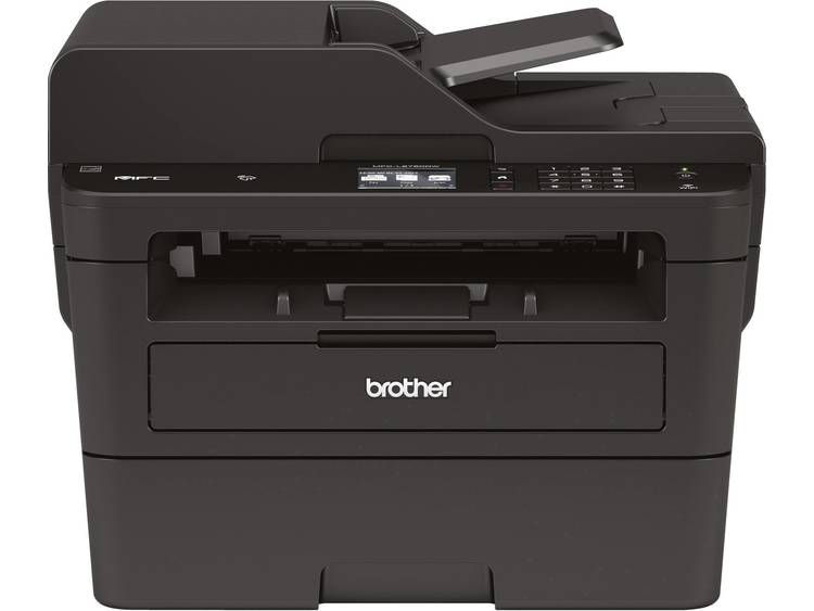 Brother Multifunctionele laserprinter A4 Faxen Printen Kopiëren Scannen