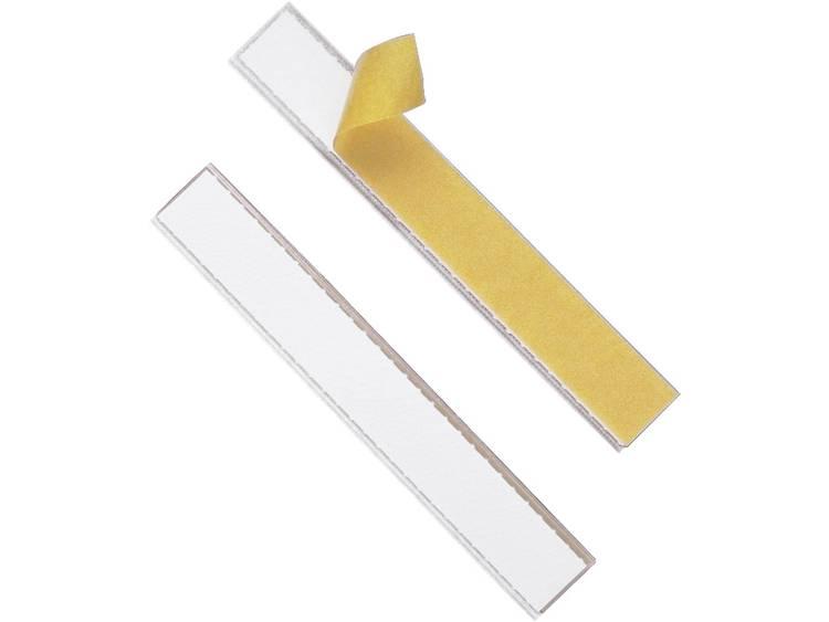 Durable 802019 (b x h) 200 mm x 20 mm Transparant 10 stuks