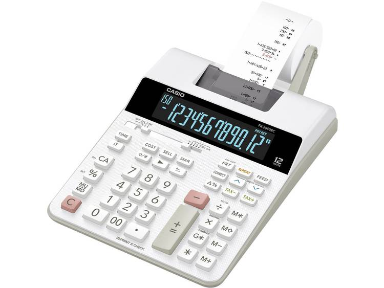 Casio FR-2650RC wit