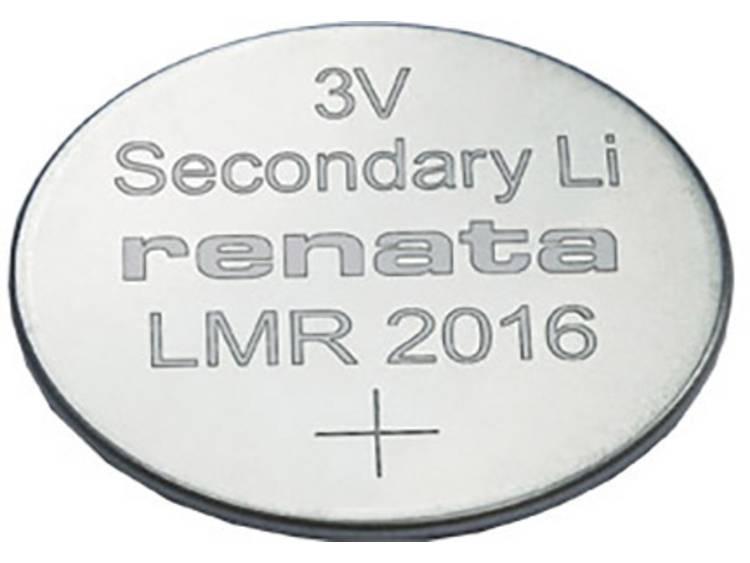 Renata LMR 2016.SC Oplaadbare knoopcel LMR 2016 Lithium 30 mAh 3 V 1 stuk(s)