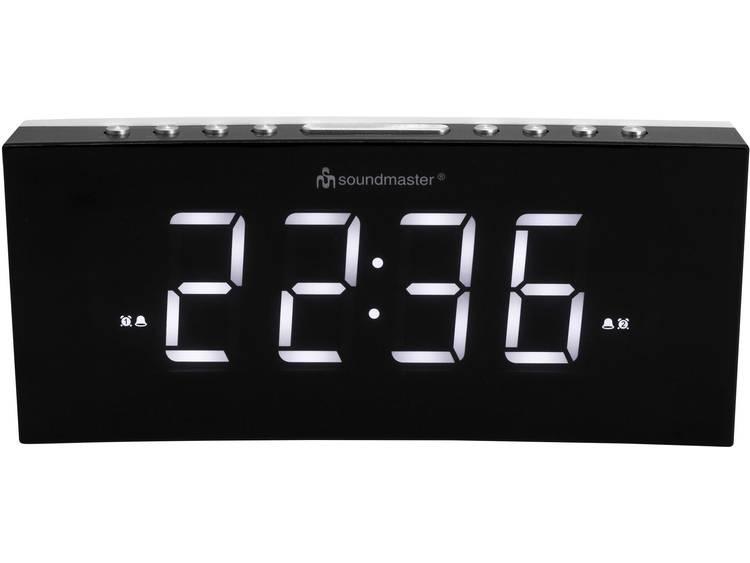 SoundMaster UR8800 Automatisch Wekker Zwart Alarmtijden 2