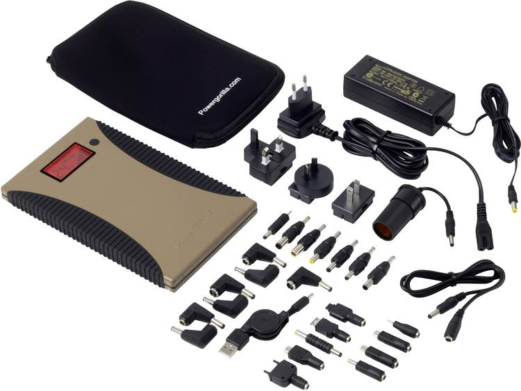 Power Traveller 24000 mAh Powerbank 2 USB-poort(en) Powergorilla Tactical