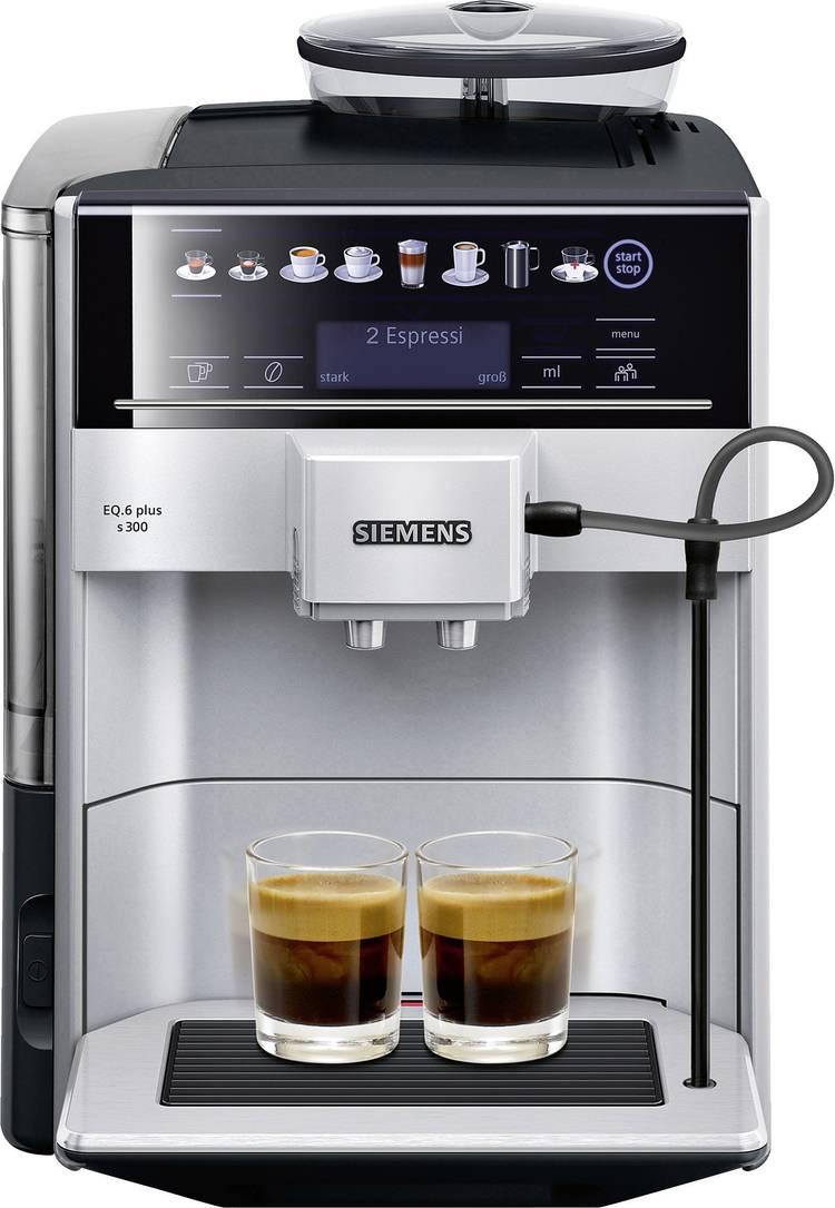 Image of Siemens EQ.6 plus s300 Koffievolautomaat TE653501DE RVS, Zwart