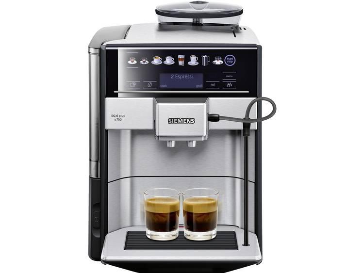 Siemens EQ.6 plus s700 TE657503DE Koffievolautomaat RVS, Zwart