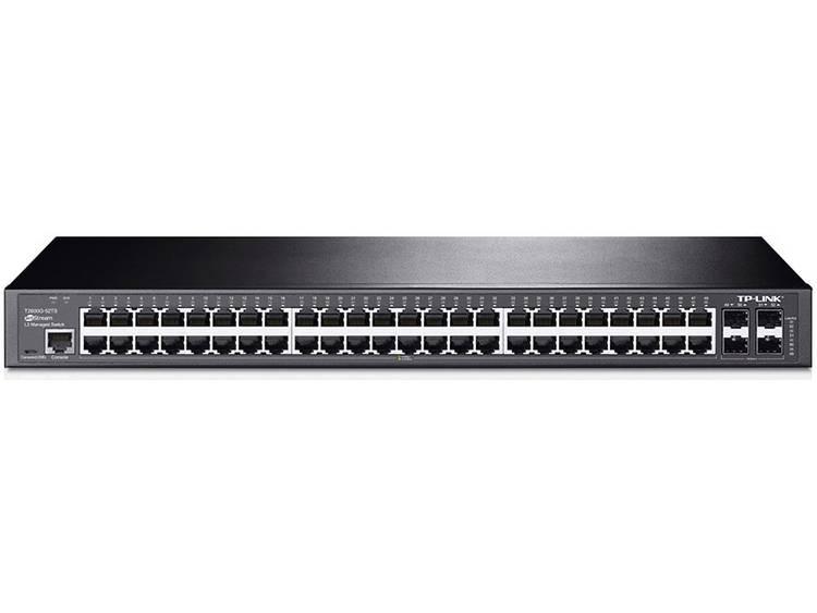 TP-LINK T2600G-52TS (TL-SG3452) Netwerk switch RJ45/SFP 52 poorten