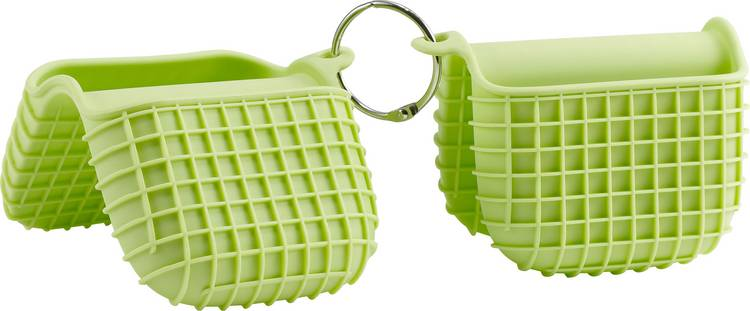Grillhandschoen Groen tepro Garten Silikon-Grillhandschuhe 2er-Set