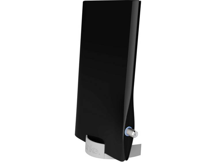 Funke DSC550 schwarz Actieve DVB-T/T2 platte antenne Binnen Versterking=23 dB Zwart