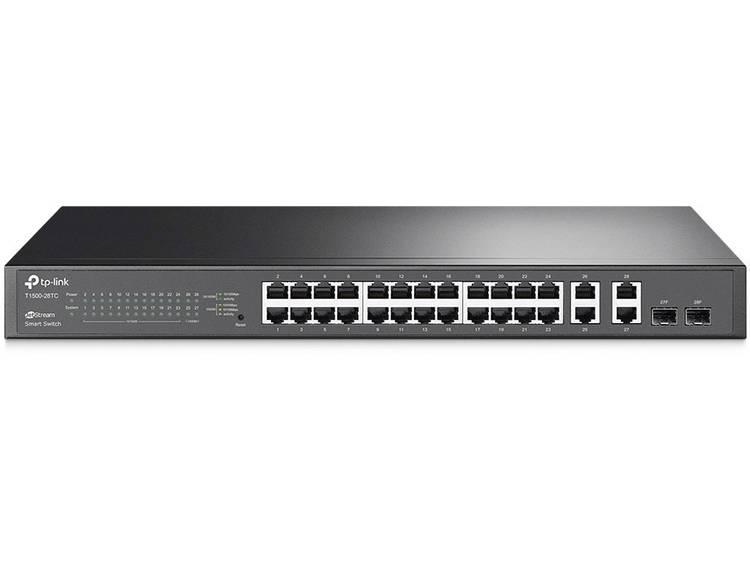 TP-LINK T1500-28TC (TL-SL2428) Netwerk switch RJ45/SFP 28 poorten