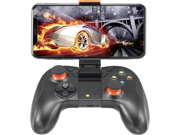 Renkforce GC-01 Gamepad Universeel Zwart