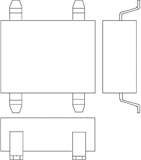 Infineon Technologies DF10S Bruggelijkrichter EDIP-4 1000 V 1 A Eenfasig