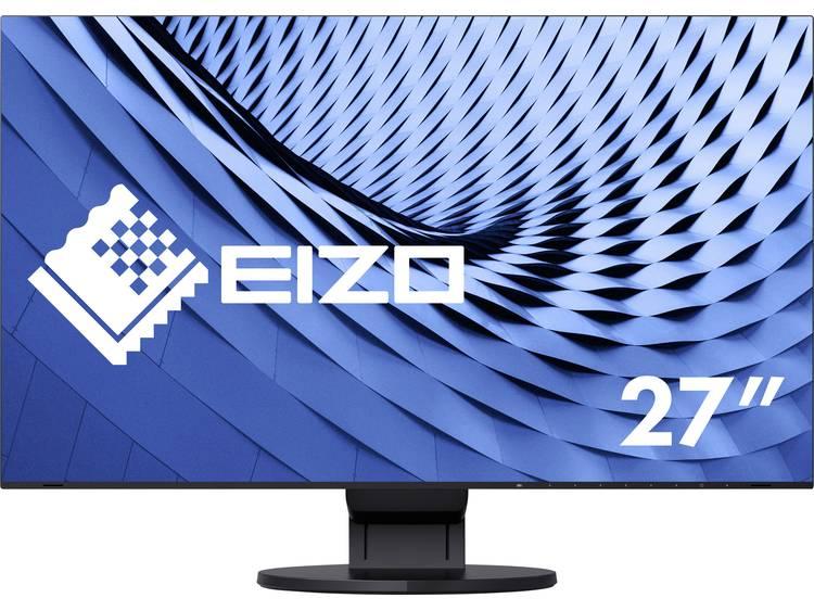 LED-monitor 68.6 cm (27 inch) EIZO EV2785-BK Energielabel A 3840 x 2160 pix UHD 2160p (4K) 5 ms HDMI, DisplayPort, USB 3.0, USB 3.1, USB-C IPS LED