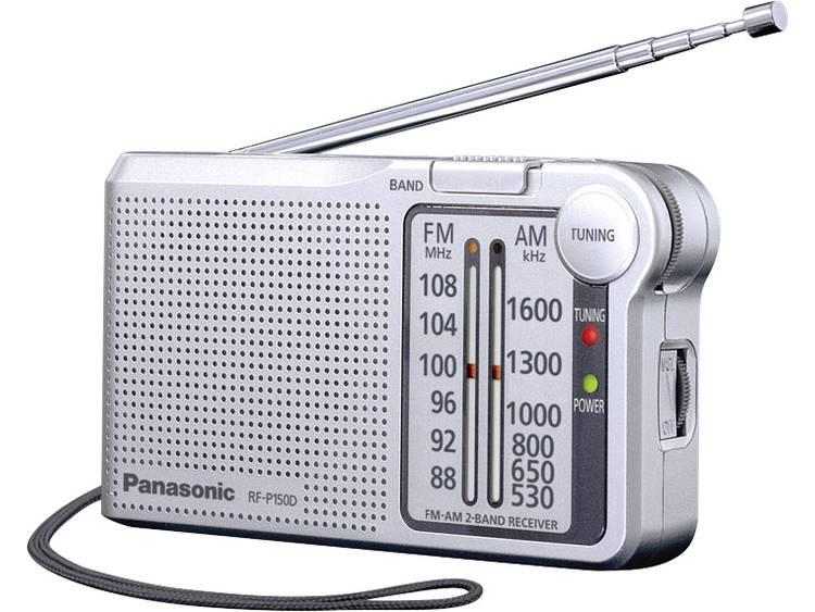 Panasonic RF-P150DEG Zakradio FM Zilver
