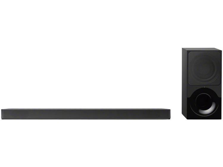 Sony HT-XF9000 Soundbar Zwart Bluetooth, Dolby Atmos, Incl. draadloze subwoofer,