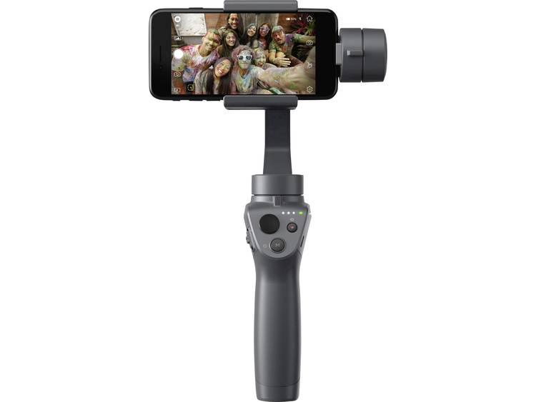 Gimbal elektrisch DJI Osmo mobile 2 Antraciet Bluetooth