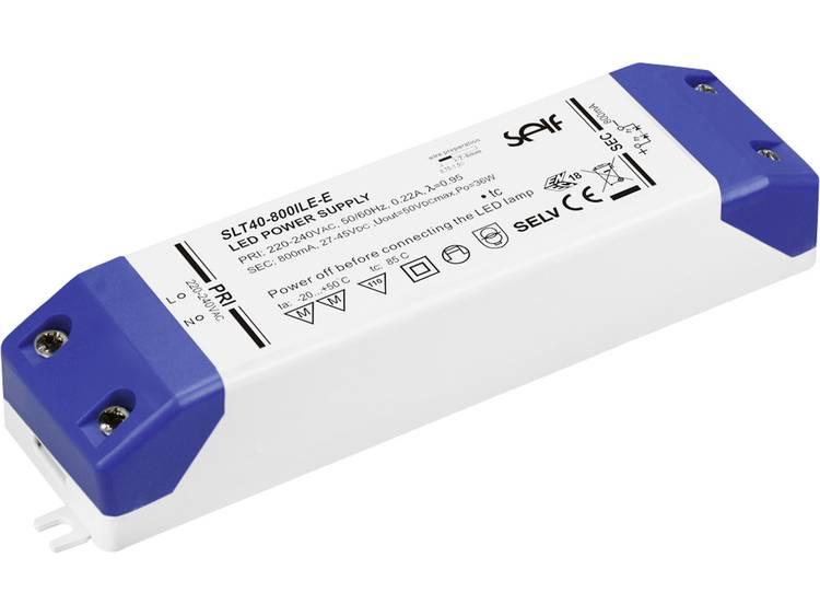 LED-driver 27.0 - 42.0 V/DC 44.1 W 1050 mA Constante stroomsterkte Self Electronics SLT40-1050ILE-E