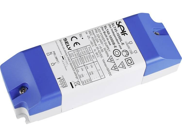 LED-driver 30.0 - 42.0 V/DC 42 W 700 - 1050 mA Constante stroomsterkte Self Electronics SLT45-1050IL-E