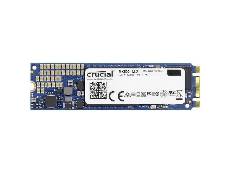 SATA M.2 SSD 2280 harde schijf 250 GB Crucial MX500 Retail CT250MX500SSD4 M.2