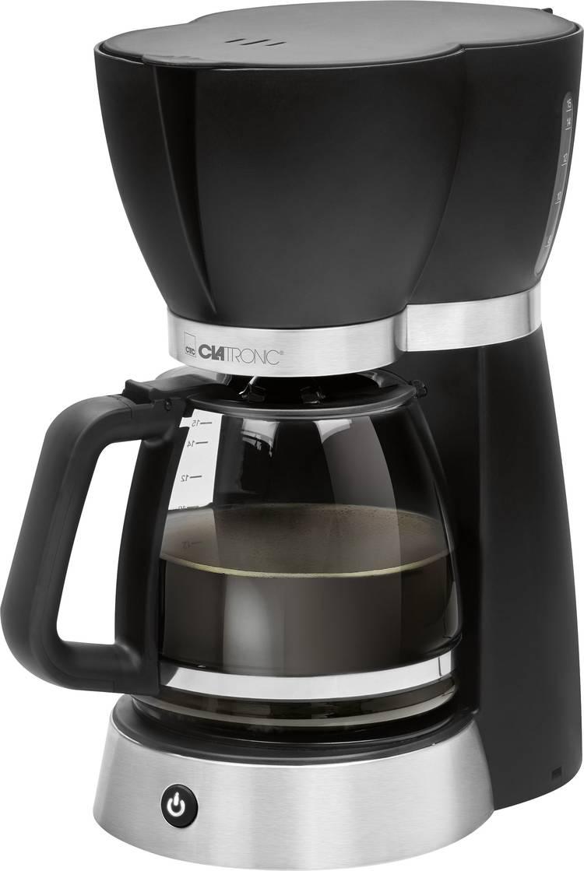 Image of Koffiezetapparaat Clatronic KA 3689 Zwart, RVS Capaciteit koppen=15