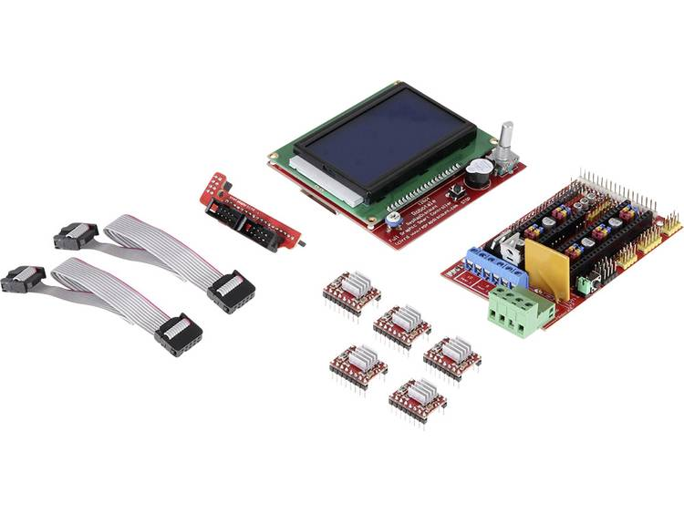 Joy-it Arduino Mega Ramps 1.4 Set inkl. Display Arduino board Geschikt voor (Arduino boards): Arduin
