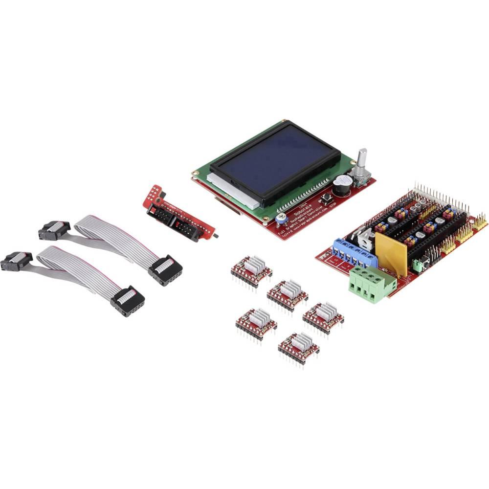 Joy-it Arduino Mega Ramps 1.4 Set inkl. Display Arduino board Geschikt voor (Arduino boards): Arduin