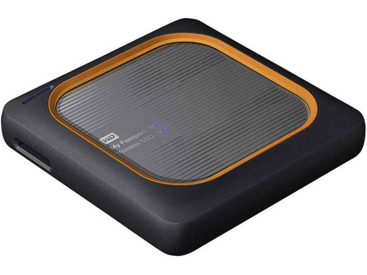 Western Digital My Passport⢠Wireless SSD 500 GB WiFi SSD harde schijf USB-host, USB 3.0, WiFi 802.11 b/g/n Grijs