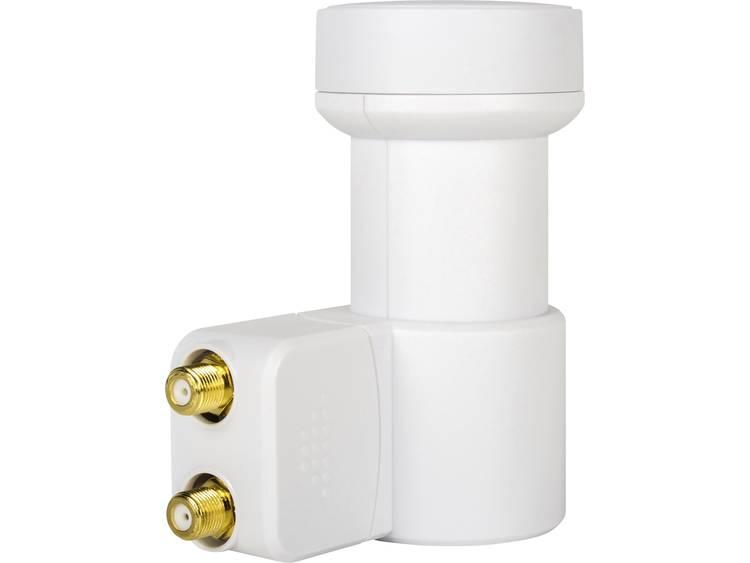 MegaSat HD-Profi Twin LNB Aantal gebruikers: 2 Feed-opname: 40 mm vergulden aansluiting, Weerbestendig