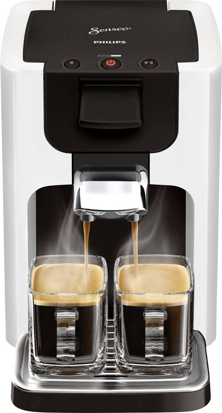 Image of SENSEO HD7865/00 HD7865/00 Koffiepadmachine Wit In hoogte verstelbare koffietuit