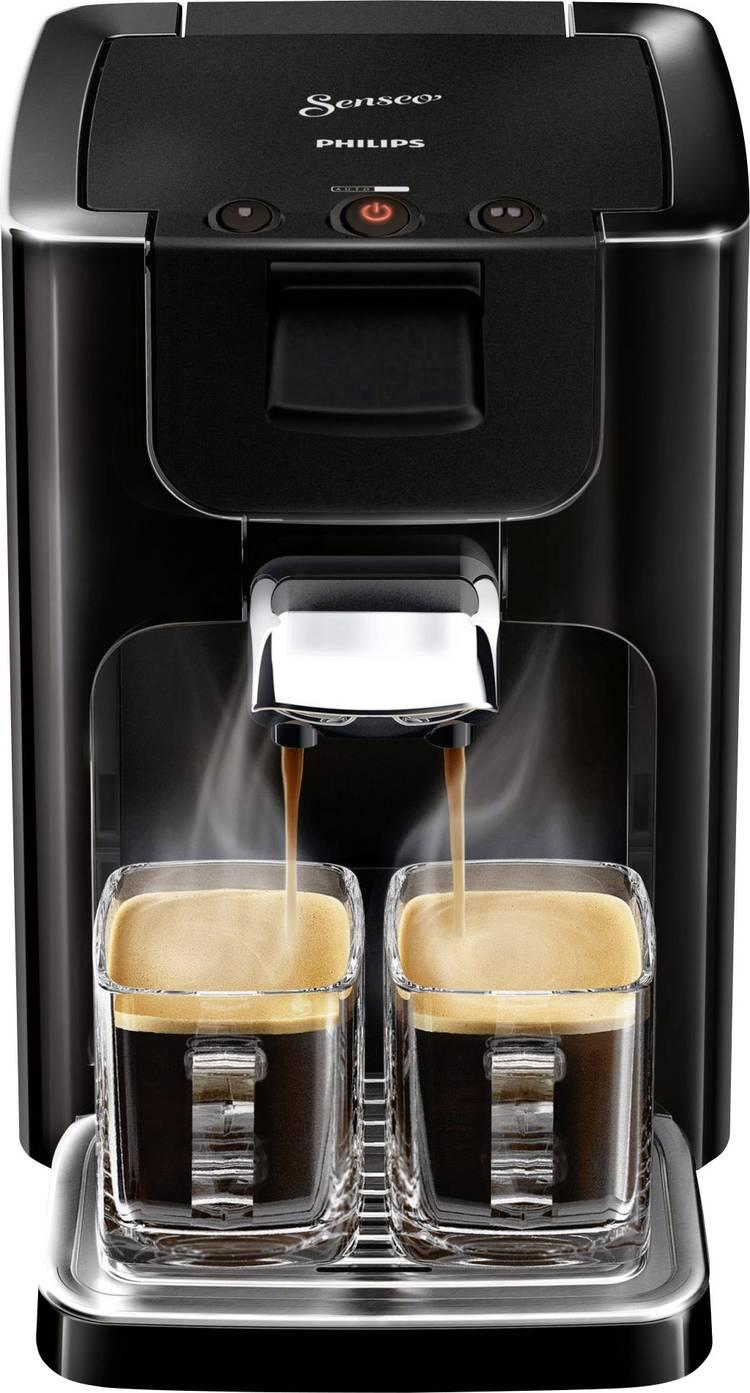 Image of SENSEO HD7865/60 HD7865/60 Koffiepadmachine Zwart In hoogte verstelbare koffietuit