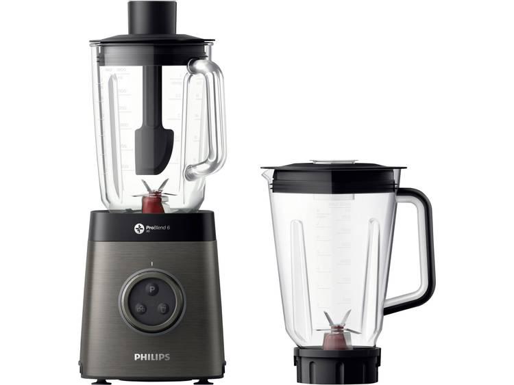 Philips HR3657/90 Blender 1400 W Antraciet, Zwart - Prijsvergelijk