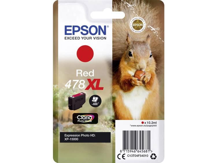 Epson Inkt T04F5, 478XL Origineel Rood C13T04F54010