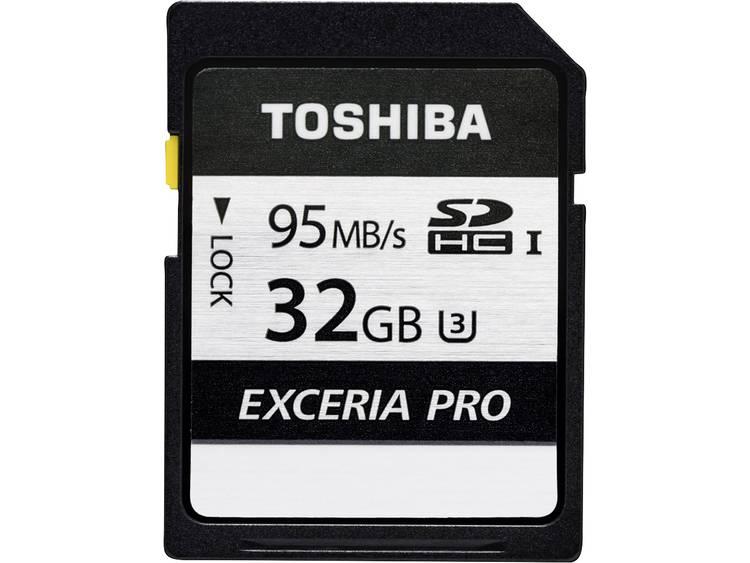 Toshiba Exceria Pro N401 SDHC-kaart 32 GB Class 10, UHS-I, UHS-Class 3