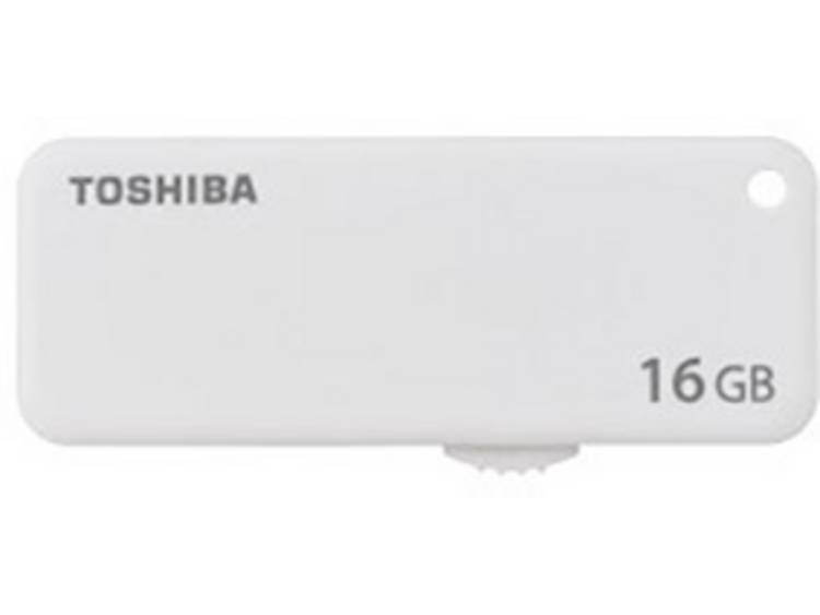 Toshiba TransMemory⢠U203 USB-stick 16 GB Wit THN-U203W0160E4 USB 2.0