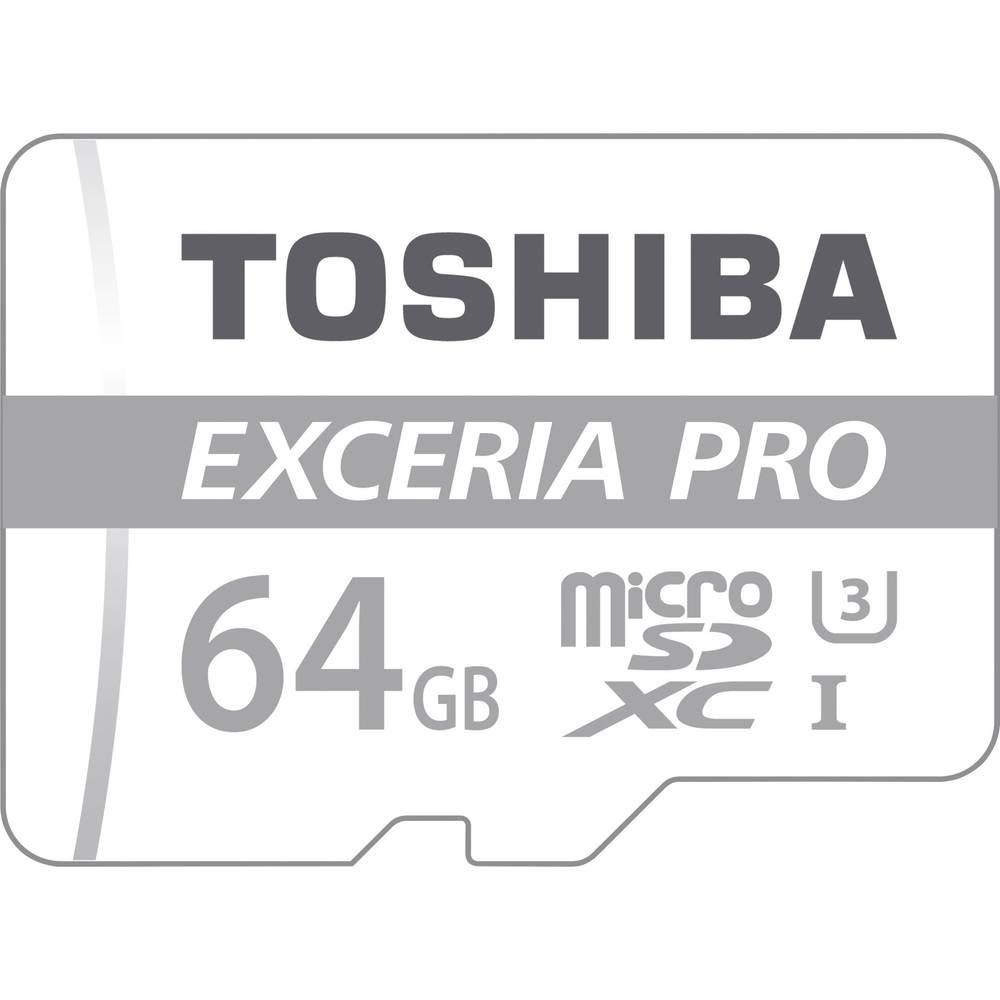 Toshiba EXCERIA™ PRO M401 microSDXC-Kort 64 GB Class 10, UHS-I inkl. SD-adapter