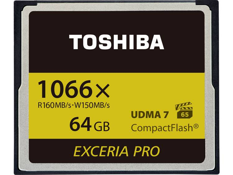 Toshiba EXCERIA PRO⢠C501 64 GB CF-kaart