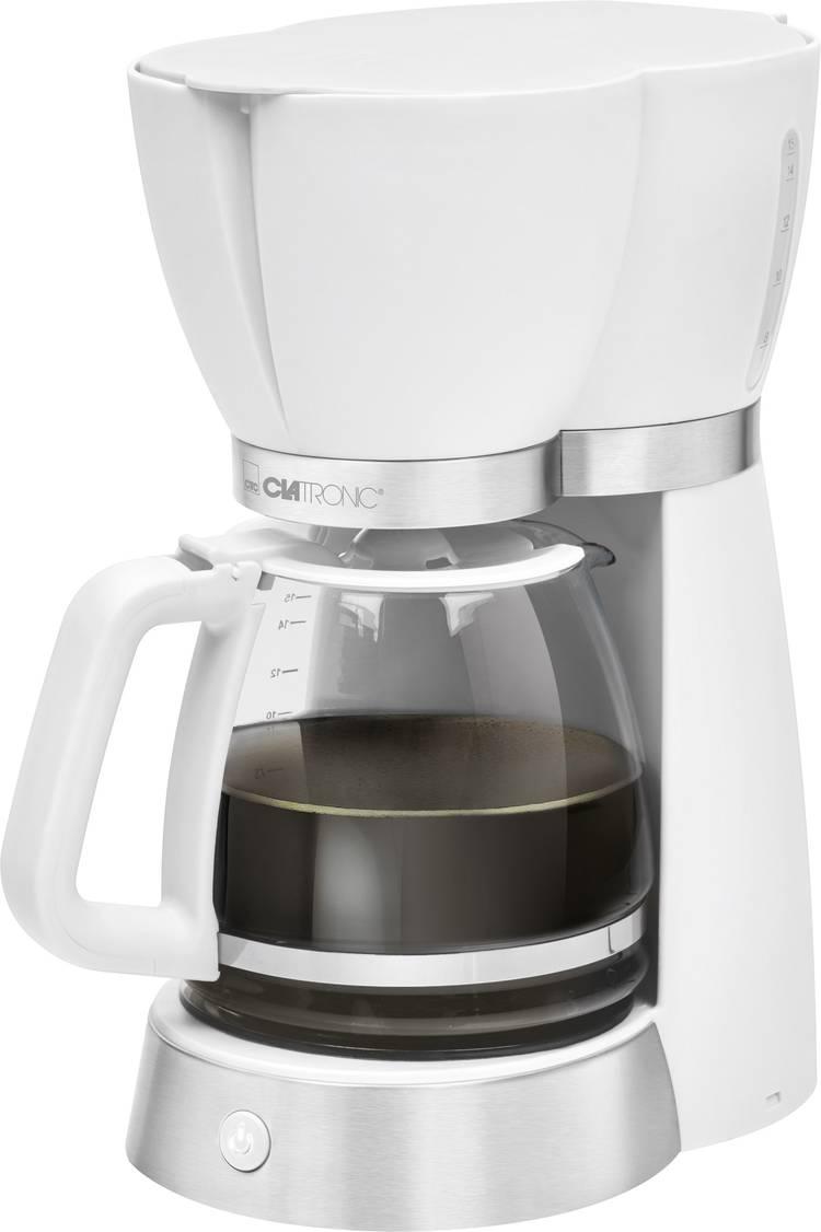 Image of Koffiezetapparaat Clatronic KA 3689 Wit Capaciteit koppen=15