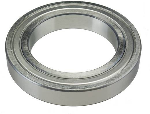 Groefkogellagers enkelrijig FAG 6220-C3 Boordiameter 100 mm Buitendiameter 180 mm Toerental (max.) 8000 omw/min