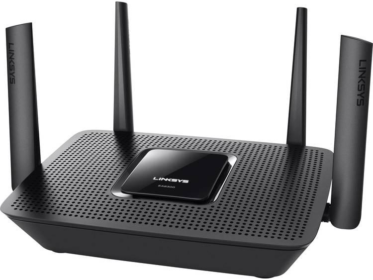 WiFi router Linksys EA8300 MAX-STREAM AC2200 2.4 GHz, 5 GHz, 5 GHz 2.2 Gbit/s