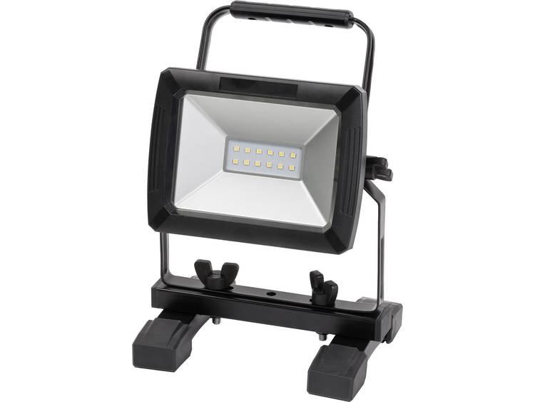 SMD LED Werklamp werkt op een accu, met autostekker Brennenstuhl 1171260111 10 W 730 lm