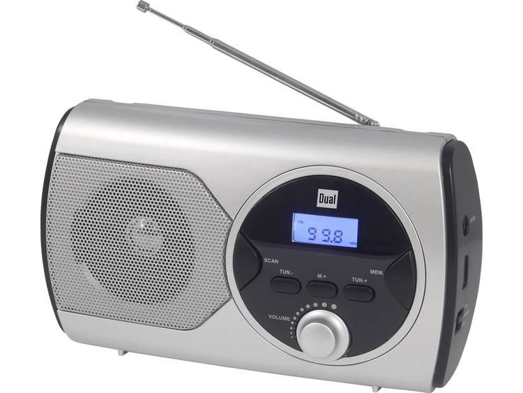 Dual P 10 Zakradio FM Zilver