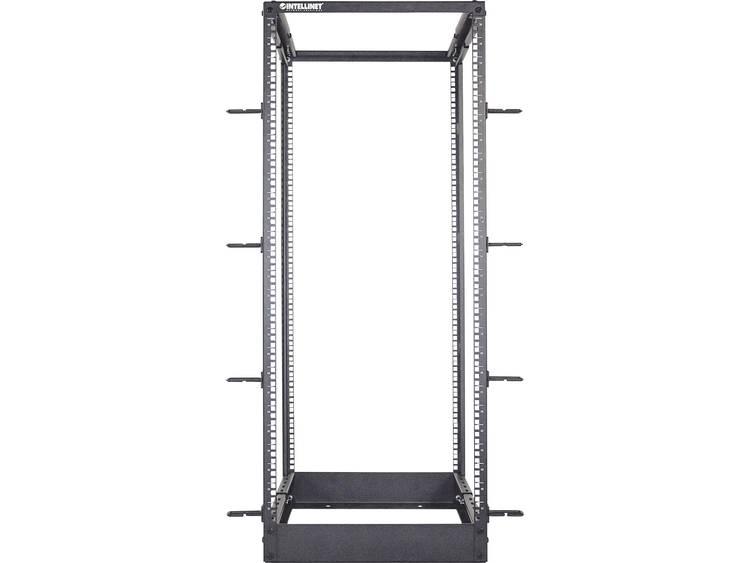 Intellinet 19 Laborgestell 4 Pfosten 48HE Flatpack schwarz 19 inch frame b x h